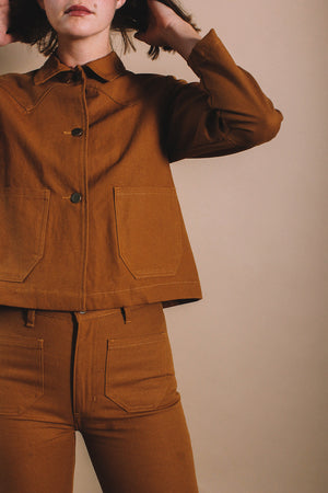 SHRUNKEN RANCH JACKET