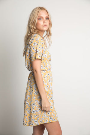 INDIANA MINI WRAP DRESS