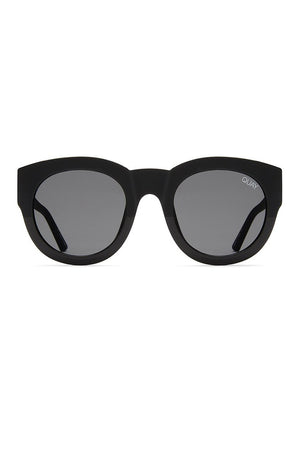 IF ONLY SUNGLASSES BLACK/SMOKE