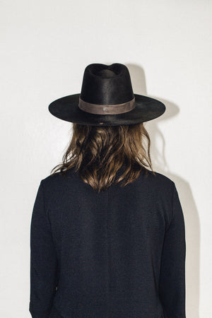 JANESSA LEONE ISLA HAT FELT | PIPE AND ROW