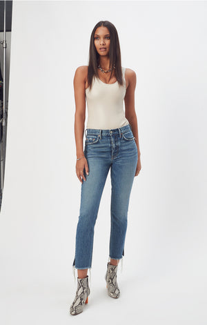 Karolina high rise smiths skinny jeans grlfrnd denim | pipe and row