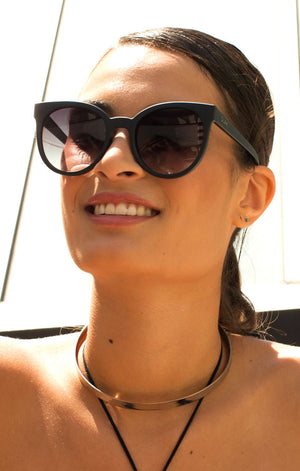 QUAY LIKEWOW SUNGLASSES BLACK | PIPE AND ROW