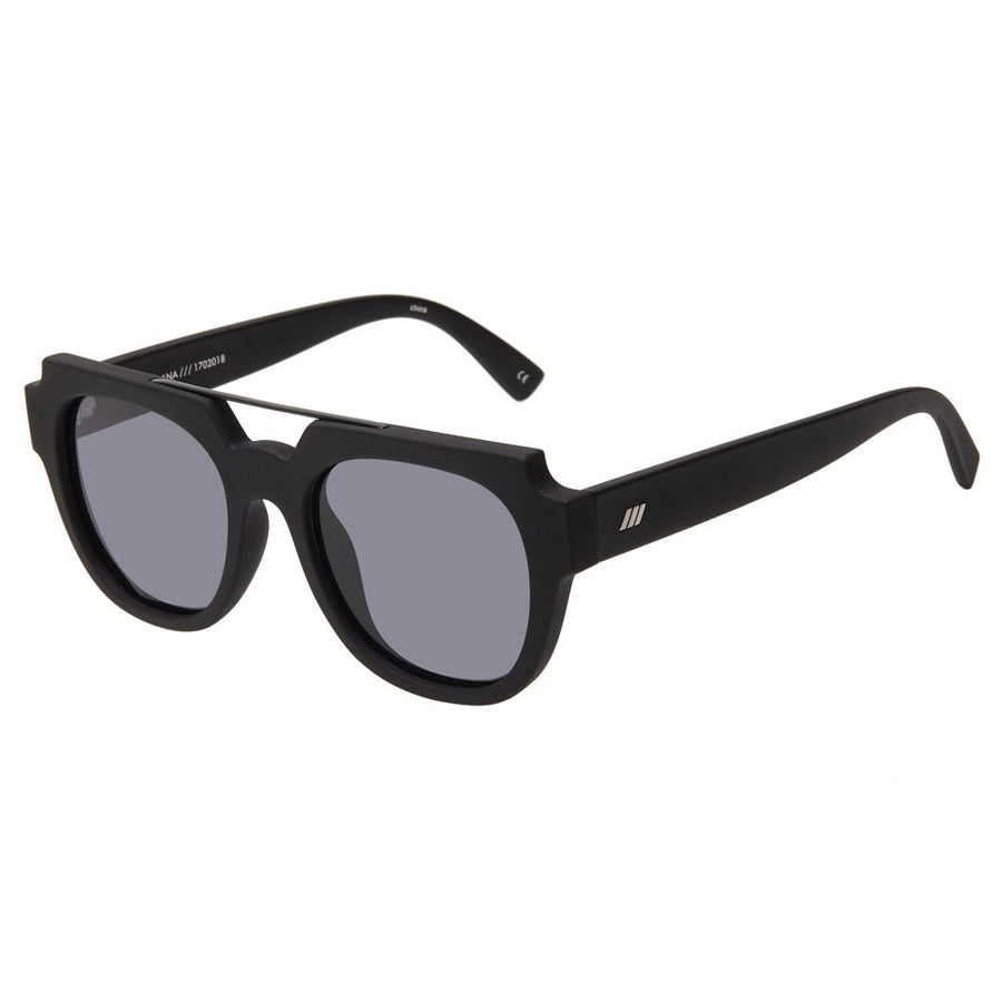 ws La Habana le specs modern matte black sunglasses | pipe and row