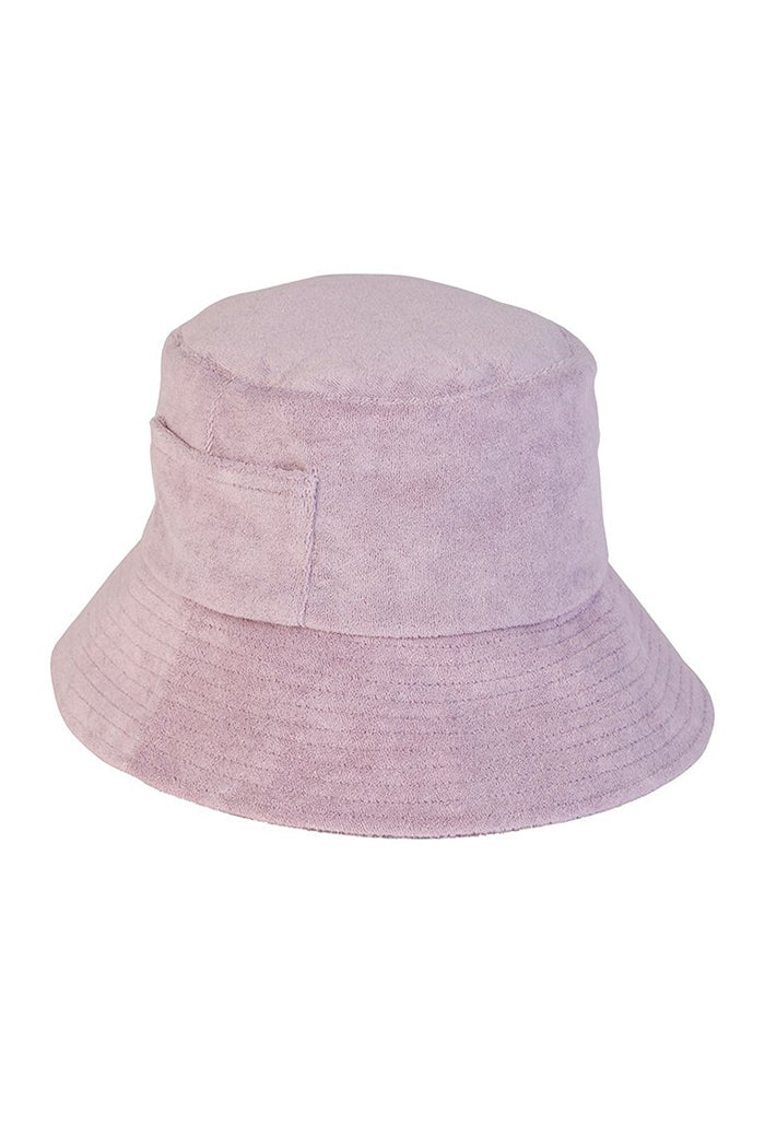 Lack of Color Wave bucket hat lavender terry | pipe and row seattle boutique