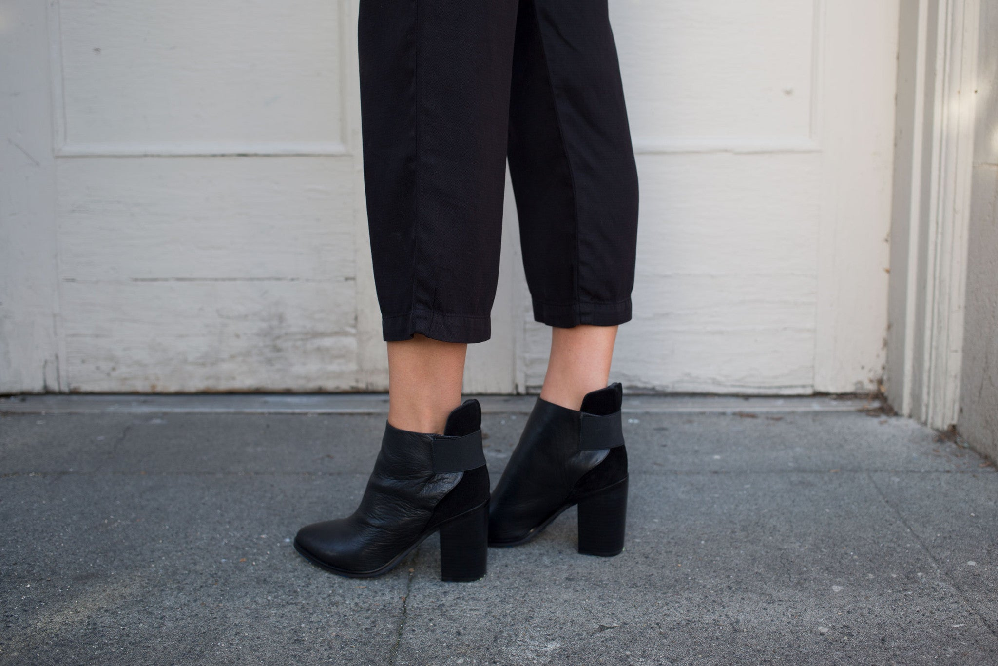 552145672c669 MONK ANKLE BOOT BLACK