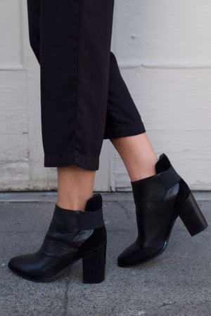 MONK ANKLE BOOT BLACK