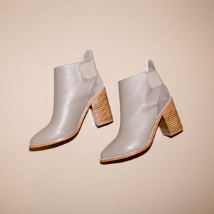 SOL SANA MONK ANKLE BOOT DUST GREY| PIPE AND ROW SEATTLE BOUTIQUE