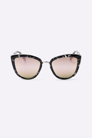 My Girl black tort pink sunglasses cat-eye quay | pipe and row boutique