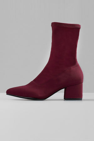Mya stretchy ankle boots deep wine red Vagabond | Pipe and Row boutique