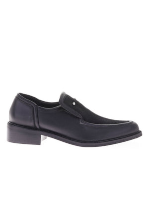 SOL SANA NANCY PONY BAR BLACK LEATHER LOAFERS BROGUE | SEATTLE PIPE AND ROW