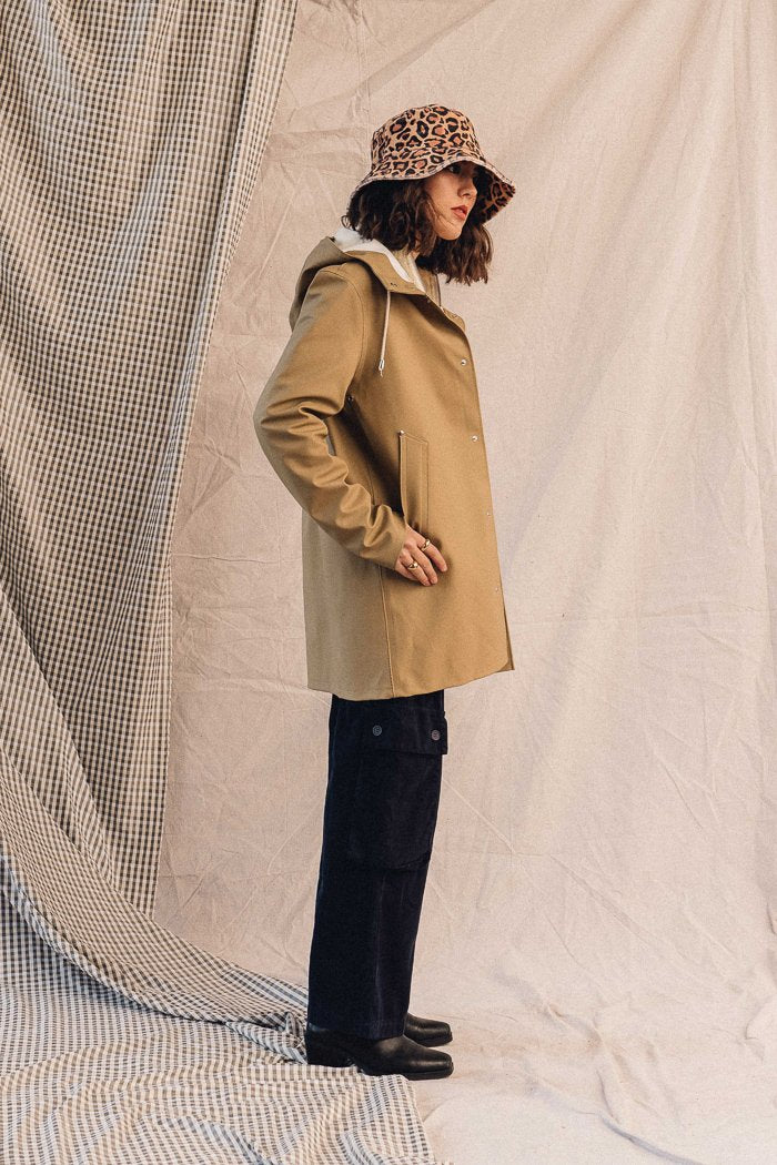 Stutterheim Rain jacket stockholm jacket sand pipe and row