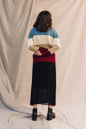 Just Female Moe Pleated Skirt Pipe and Row Spring 2020