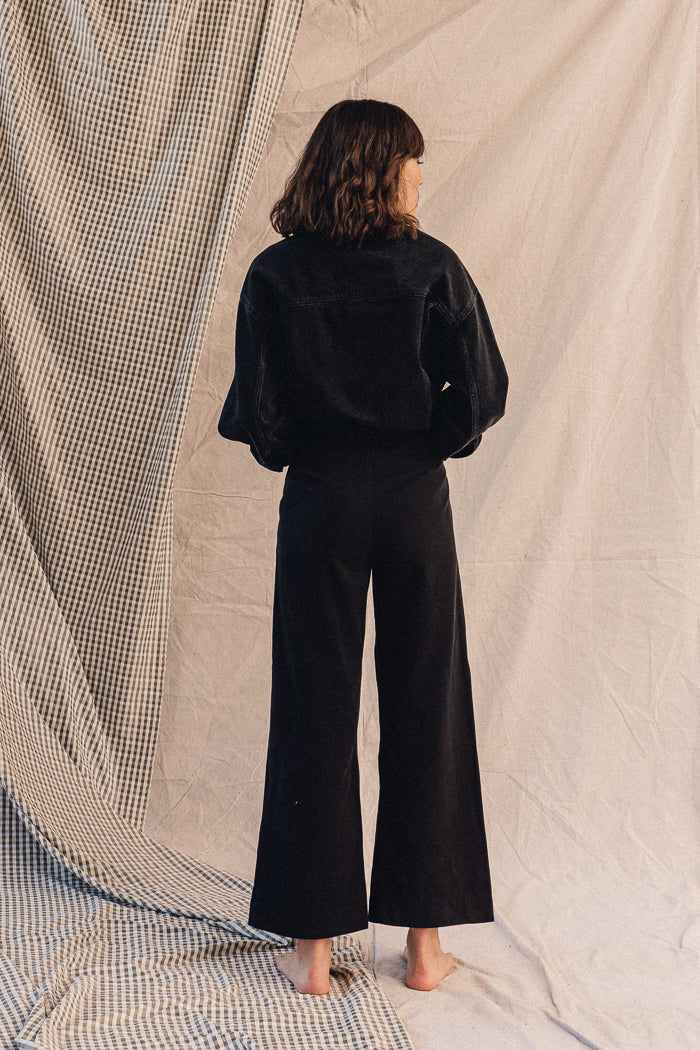 Pipe and Row Lacausa James Trousers Black Spring 2020