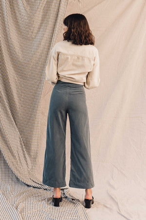Pipe and Row Lacausa James Trousers Steel Blue Spring 2020