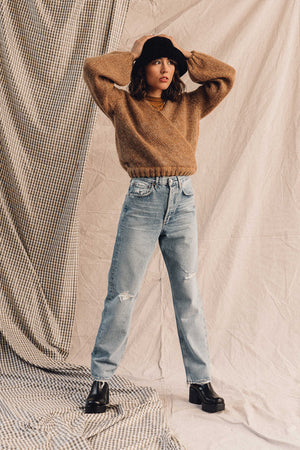 Pipe and Row AGOLDE Denim 90's loose fit captured