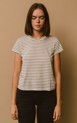 RECYCLED FRANK STRIPE TEE