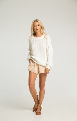 RUE STIIC PACAR SWEATER CREAM | PIPE AND ROW