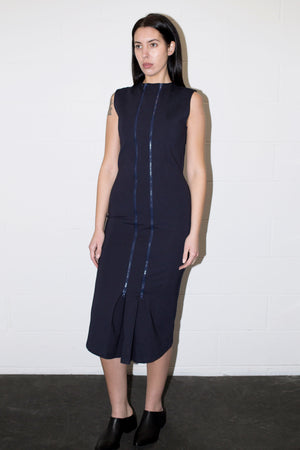 POPPYSEED ZIPPER cocktail DRESS | PIPE AND ROW SEATTLE BOUTIQUE