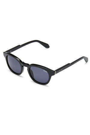a4e1004f9d066 Walk On round polarized lens sunglasses black quay australia