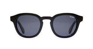 quay walk on black round sunglasses men women | pipe and row accessories