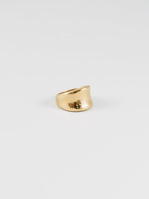 handcrafted arora ring 14k gold wolf circus | pipe and row seattle