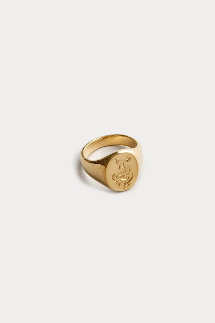 OPHIDIAN SIGNET RING
