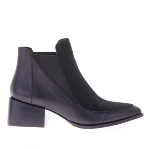 RICO BOOT BLACK PONY HAIR