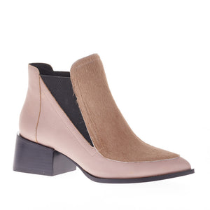 RICO BOOT NUDE PONY HAIR