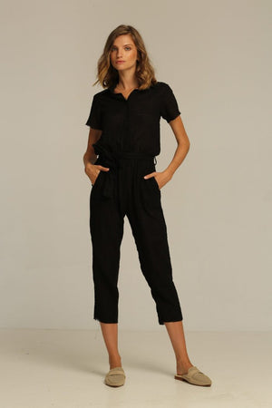 Rue Stiic Hilton Jumpsuit black | PIPE AND ROW boutique seattle