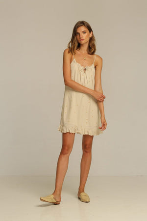 Rue Stiic Carter Mini Dress slip dress pipe and row sand rays