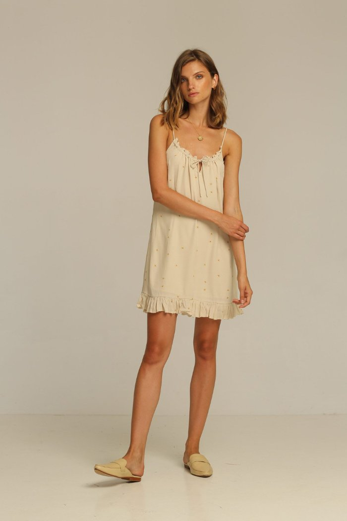 Rue Stiic Carter Mini Dress slip dress pipe and row