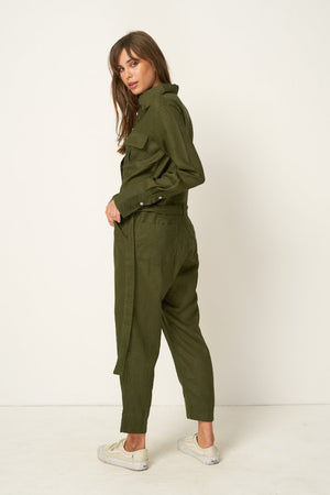 PRESTON LINEN JUMPSUIT