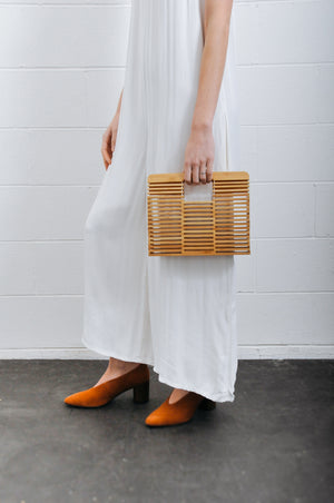 BAMBOO BOX HANDBAG