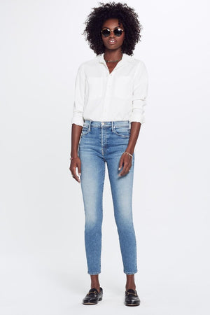 "Mother Denim Stunner Ankle in ""Love Experiment PIPE AND ROW"