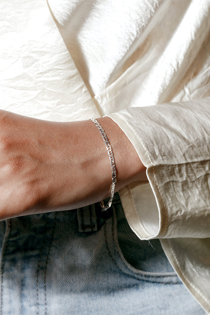 Wolf Circus Toni sterling silver chain bracelet | Pipe and Row boutique seattle