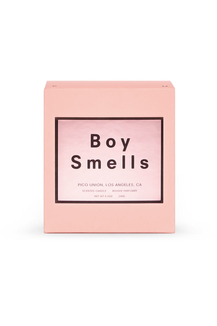 Boy Smells Petal candle in limited edition pink valentines day | pipe and row