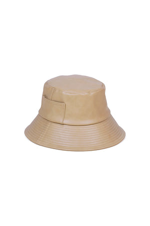 Lack of Color Wave bucket hat camel vegan | pipe and row seattle boutique