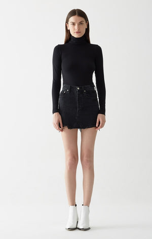 QUINN HIGH RISE MINI SKIRT