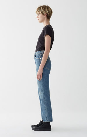 90's mid rise loose fit dazed vintage levi look agolde | pipe and row