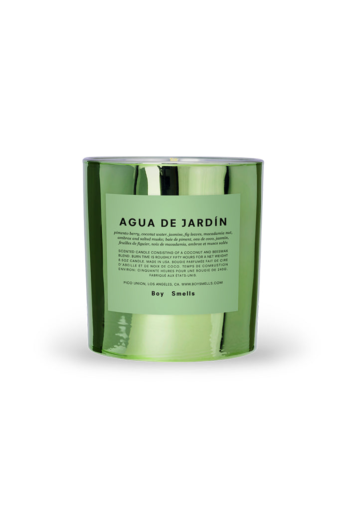 Boy Smells Agua de Jardin special edition hypernature series candle | pipe and row