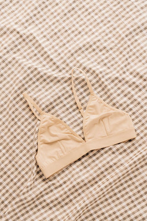 Unmentionables Bralette bone ecru ivory Boy Smells | pipe and row boutique