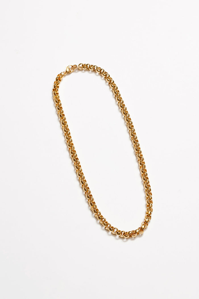 Wolf Circus Camden chunky gold rolo chain necklace | Pipe and Row Seattle