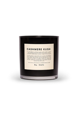 Boy Smells white Cashmere Kush candle | Pipe and Row Seattle Boutique Fremont