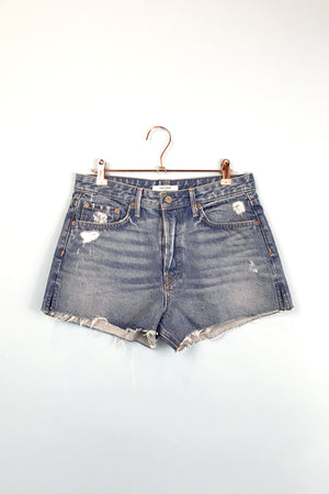 cindy high rise psychedellic shack shorts front grlfrnd denim | pipe and row.jpg