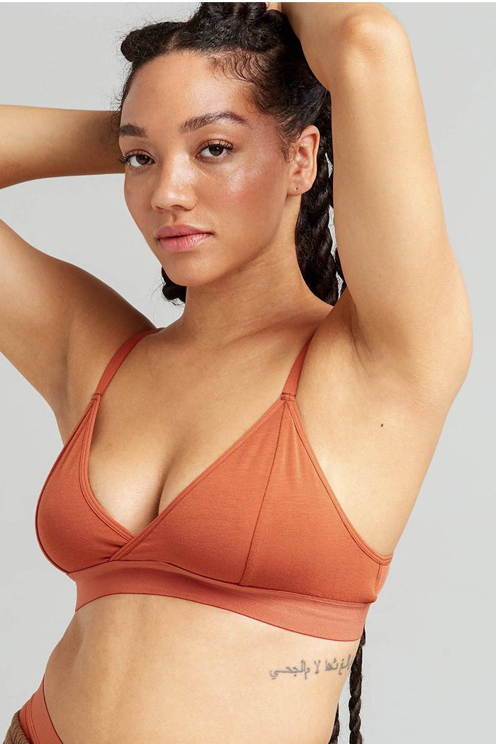 Richer Poorer classic bralette redwood | pipe and row boutique seattle