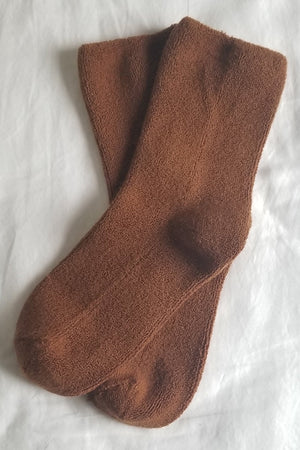 CLOUD SOCKS SEPIA