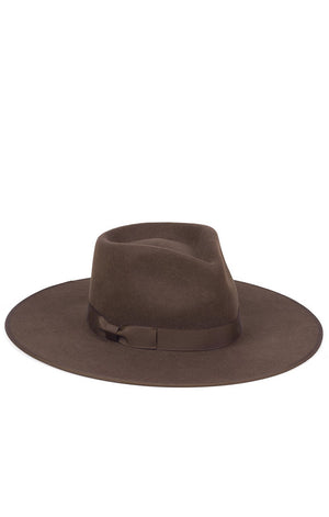 Lack of Color Coco Rancher fedora hat dark chocolate brown | Pipe and Row