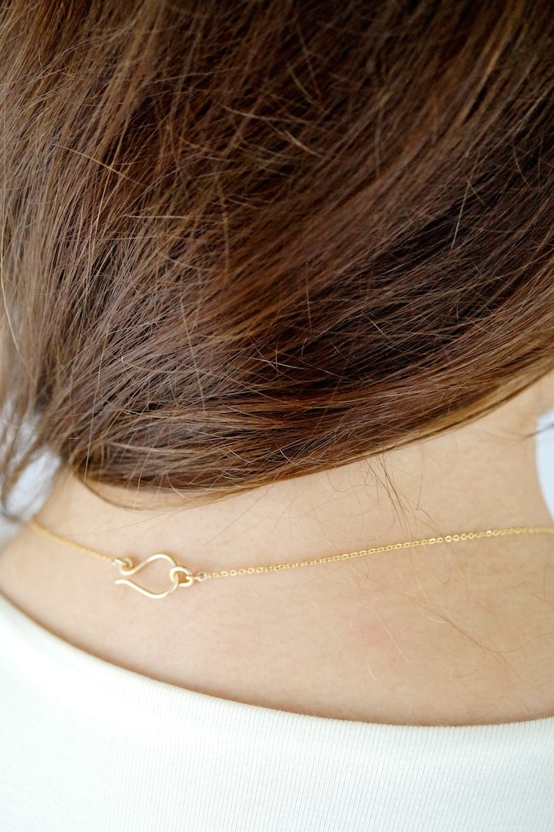 Collar Necklace 14k gold fill | Pipe and Row