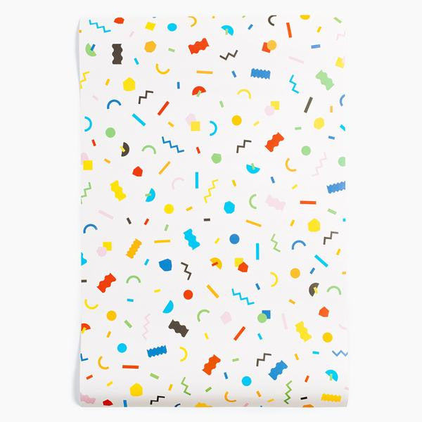 confetti wrapping paper poketo | pipe and row