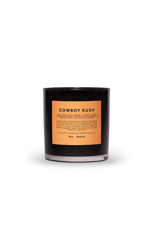 COWBOY KUSH CANLDE Boy Smells | Pipe and Row boutique Seattle shop small